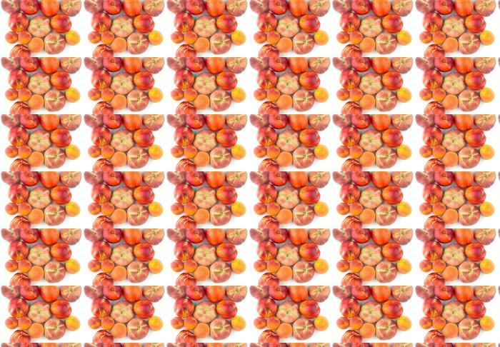 Vinylová Tapeta Broskev, nektarinka, meruňka - pozadí - Témata