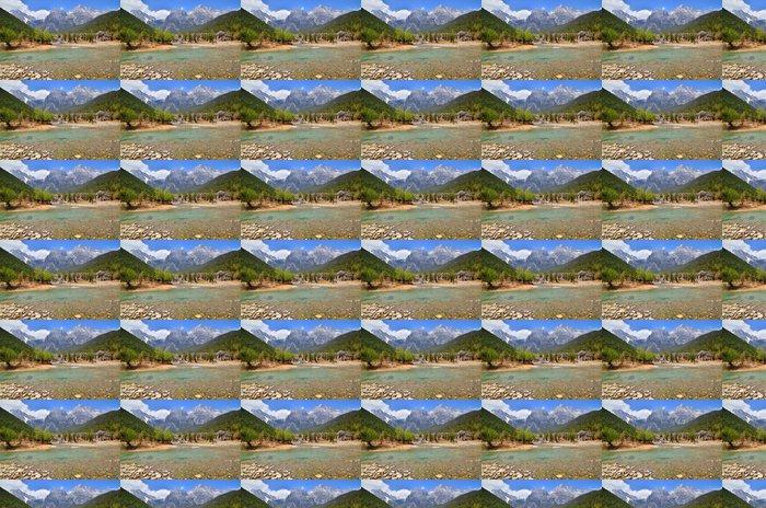 Vinylová Tapeta Vodopády Alpine Mountain - Voda