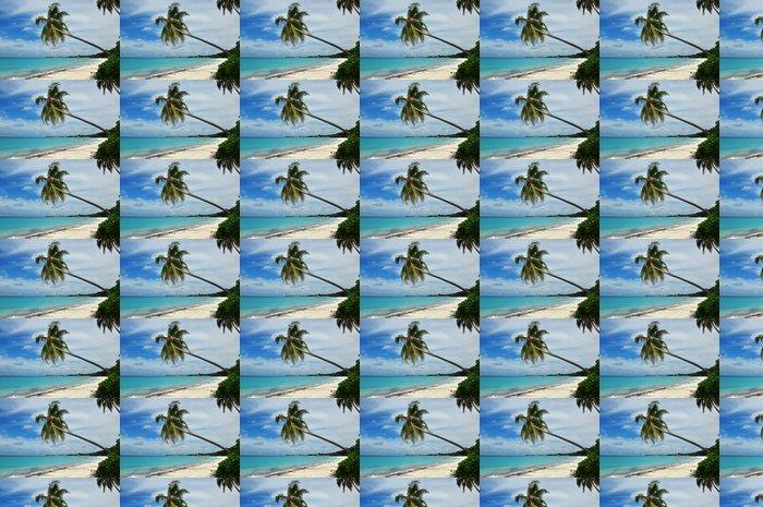 Vinylová Tapeta Malediven - Inselpanorama - Prázdniny