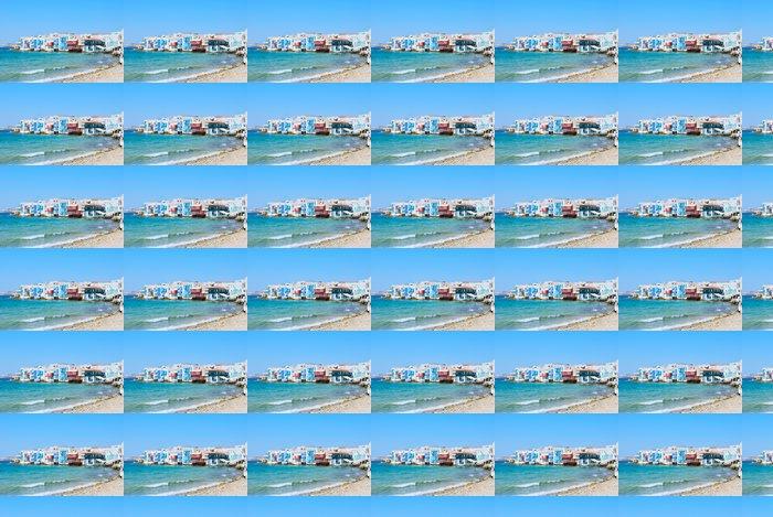 Vinylová Tapeta Malé Benátky Mykonos Island - Prázdniny
