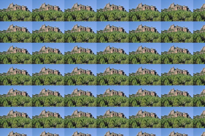 Vinylová Tapeta Bosque Mediterráneo en la Sierra de Albarracín, España - Evropa