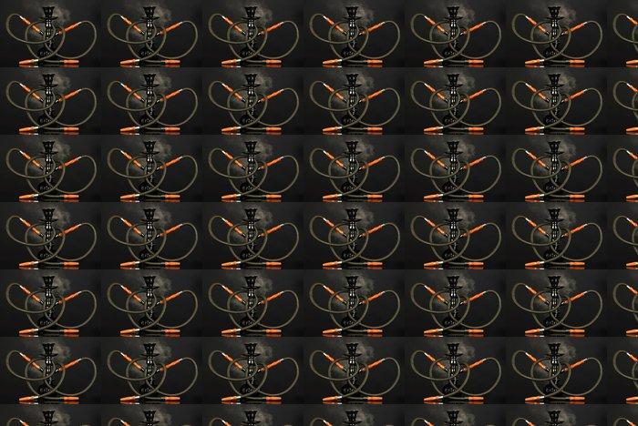 Vinylová Tapeta Vodní dýmka kouř na černém pozadí - Jiné objekty