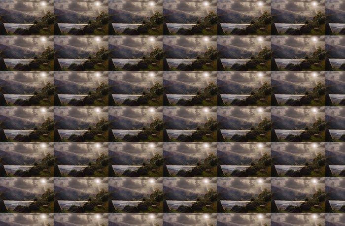 Vinylová Tapeta Přestávka v oblacích - Venkov
