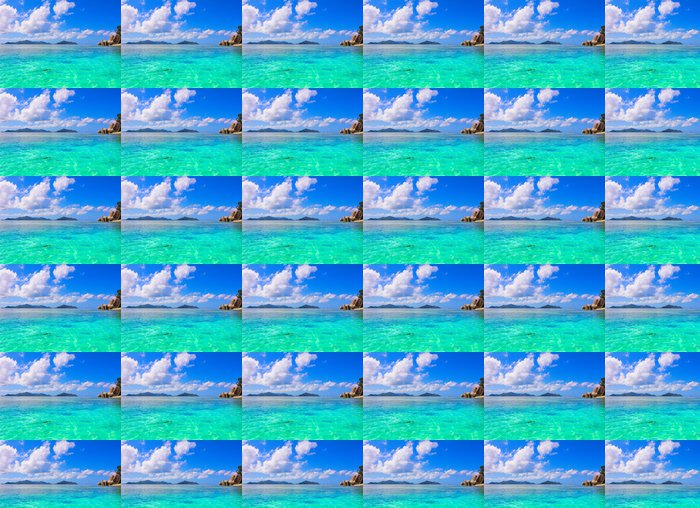 Vinylová Tapeta Summertime Panorama Sea - Voda