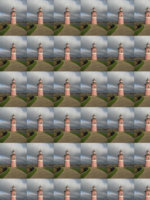 Vinylová Tapeta Leuchtturm nahe des Fasanenschlößchens v Moritzburg - Infrastruktura