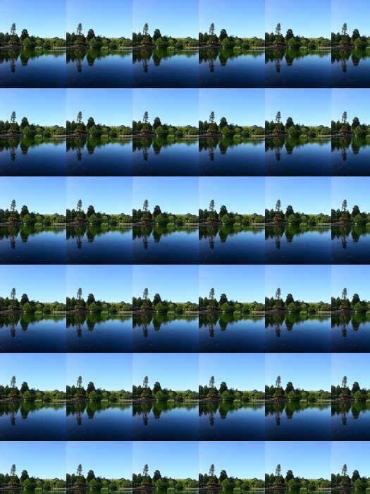 Vinylová Tapeta Park Lake - Prázdniny
