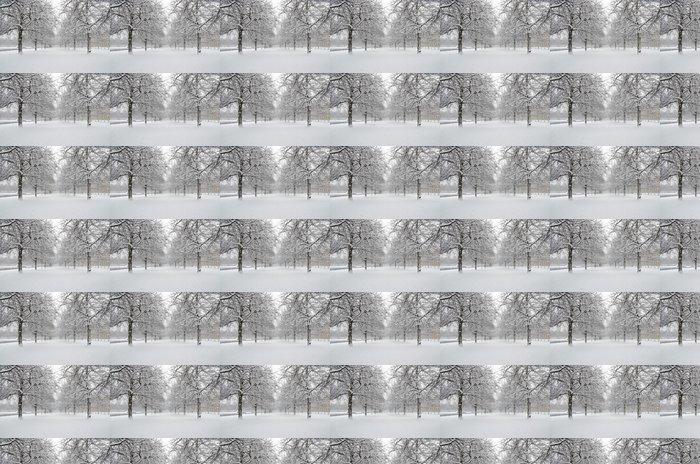 Vinylová Tapeta Английский сад зимой - Témata