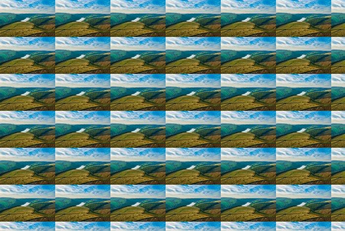 Vinylová Tapeta Idylické svahu a výhledem na jezero za slunečného dne Hope Valley - Outdoorové sporty