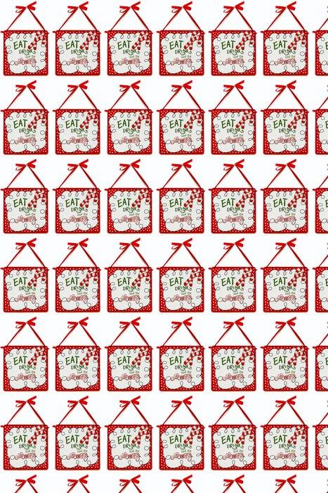 Vinylová Tapeta Jíst pít a Be Merry - Mezinárodní svátky