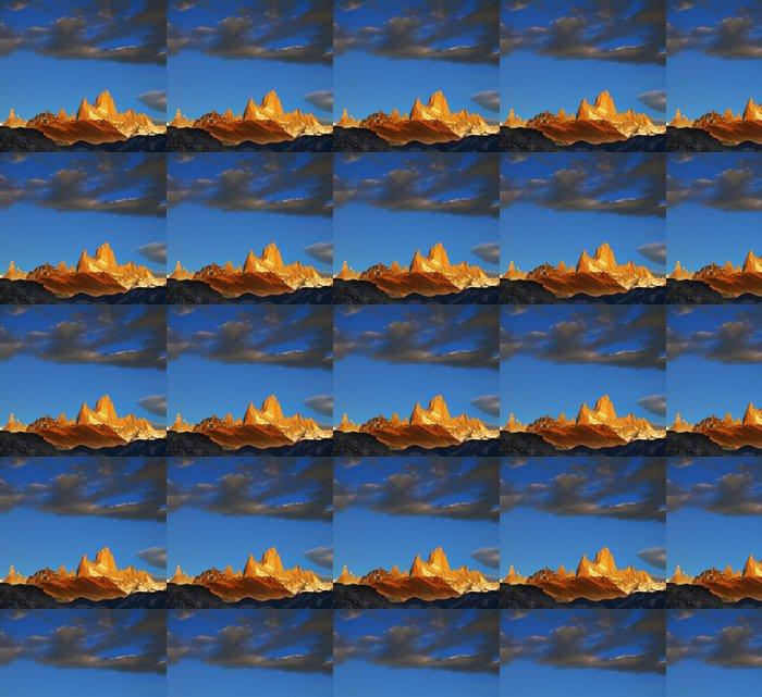 Vinylová Tapeta Nádherné východ slunce nad Fitzroy - Hory