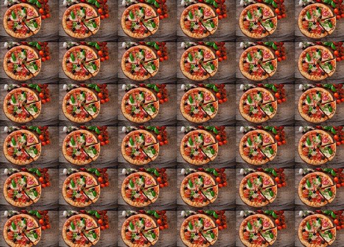 Vinylová Tapeta Vynikající italská pizza - Témata