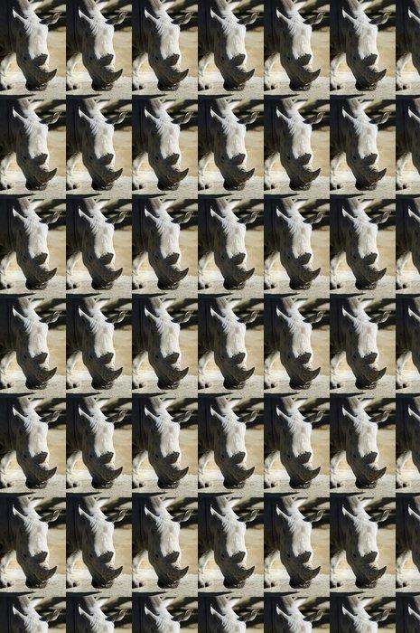 Vinylová Tapeta Wildlife a zvířata - Rhinoceros - Témata