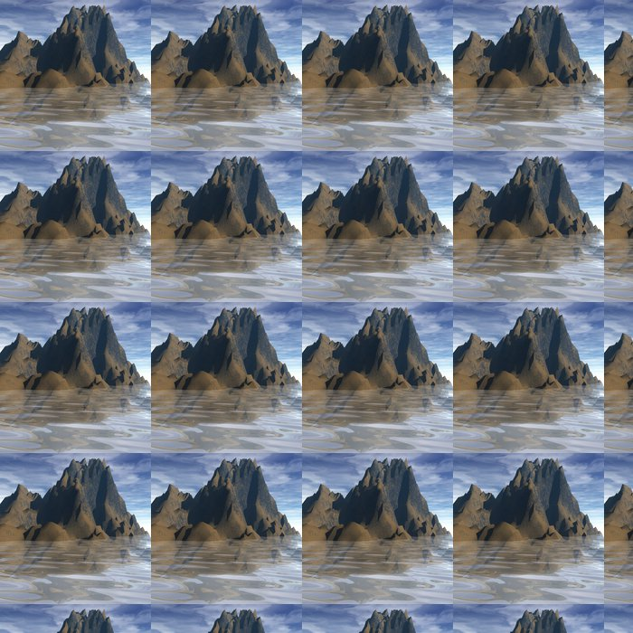 Vinylová Tapeta Perfektní Nature - Voda