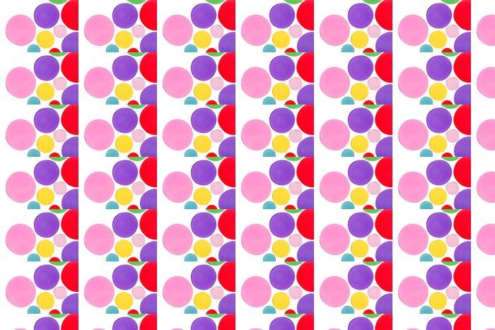 Vinylová Tapeta Designové prvky kruhového tvaru - Abstraktní