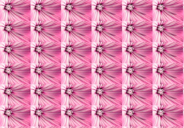 Vinylová Tapeta Růžová květina - Domov a zahrada