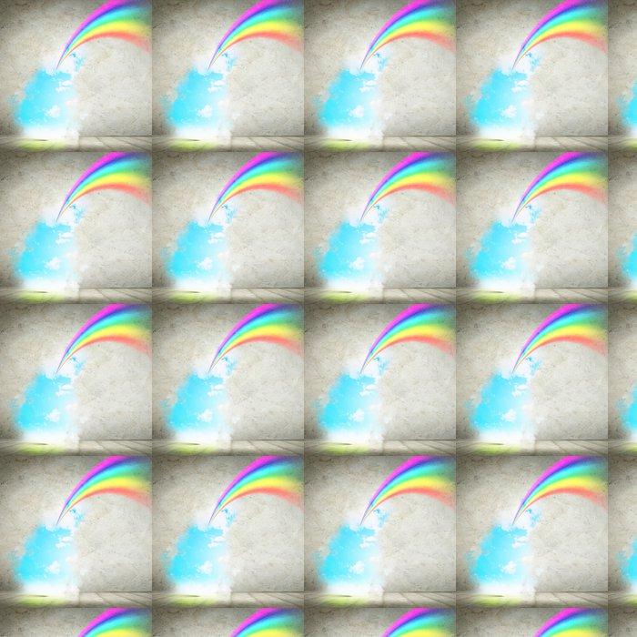 Vinylová Tapeta Duha na obloze - Nebe