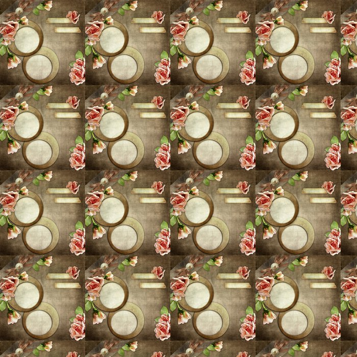 Vinylová Tapeta Vintage rám na pozadí grunge - Slavnosti