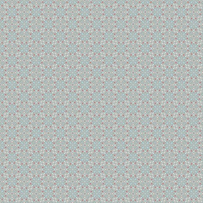Vinylová Tapeta Arabská modrá vzor - Pozadí
