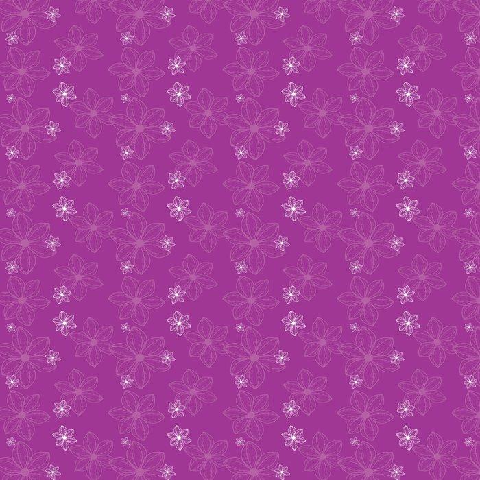 Vinylová Tapeta Violet vzor - Pozadí