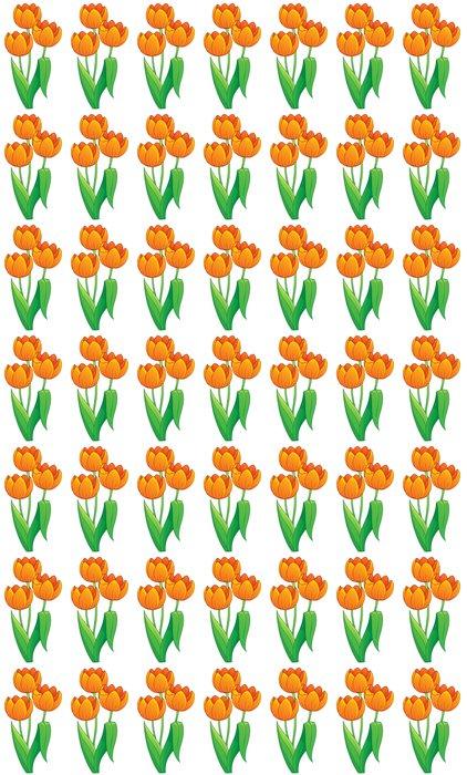 Vinylová Tapeta Snímek s tématem tulipán květ 1 - Květiny