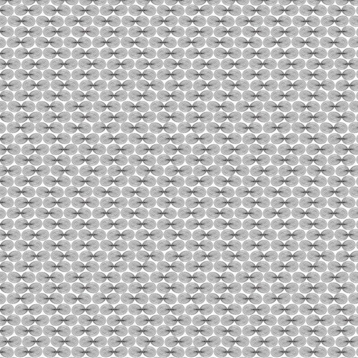 Vinylová Tapeta Létat bezešvé vzor v černé a bílé - Struktury