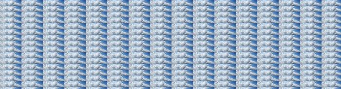 Vinylová Tapeta Panoramatický výhled zatažené obloze, textura - Nebe