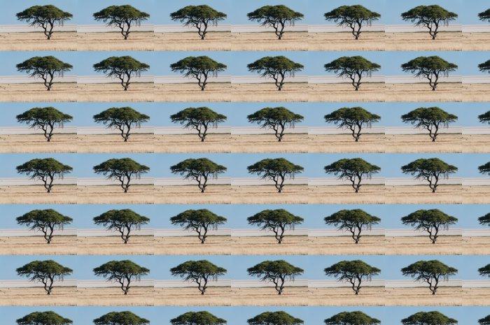 Vinylová Tapeta Strom na Etosha Pan - Afrika