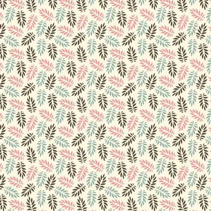 Vinylová Tapeta Bezešvé květinový vzor - Pozadí