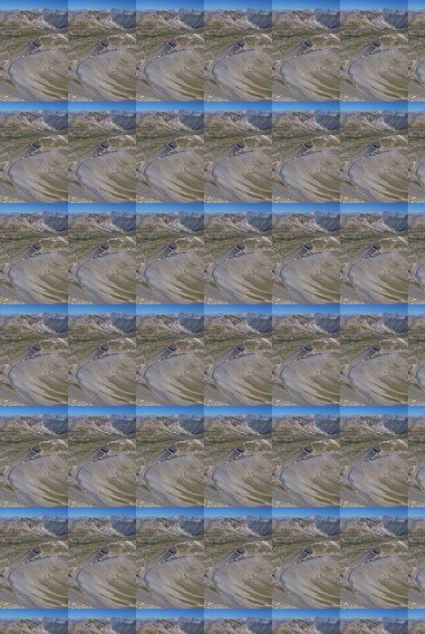 Vinylová Tapeta Horský průsmyk - Hory