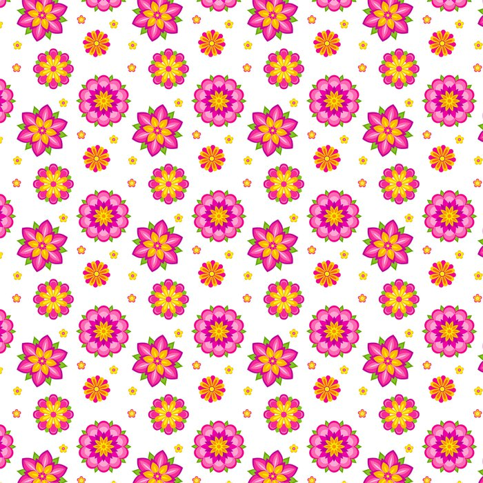 Vinylová Tapeta Květiny bezešvé vzor - Struktury