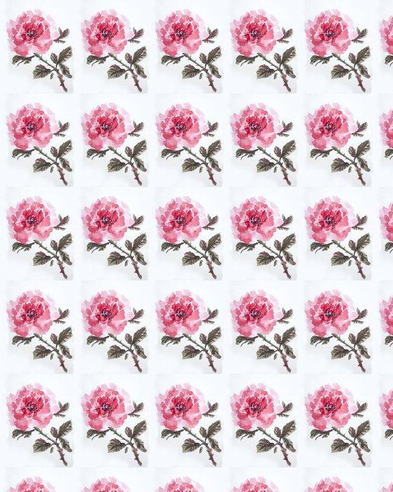 Vinylová Tapeta Asain růže akvarel - Umění a tvorba