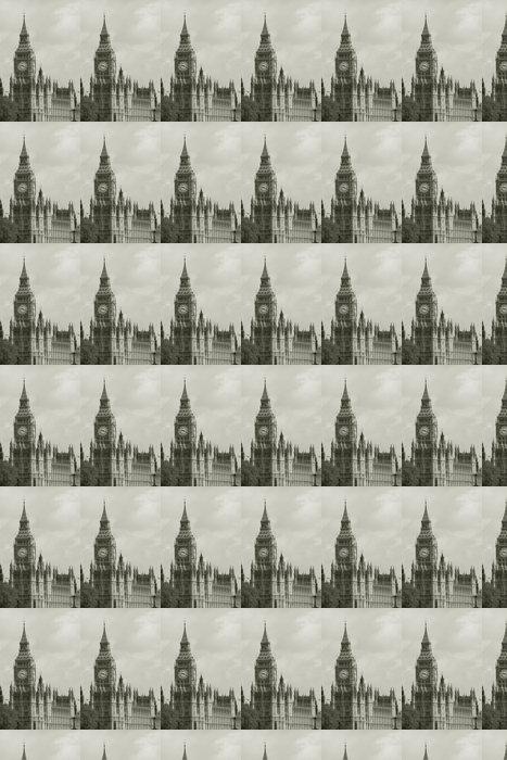 Vinylová Tapeta Big Ben pohledu z South Bank - Témata