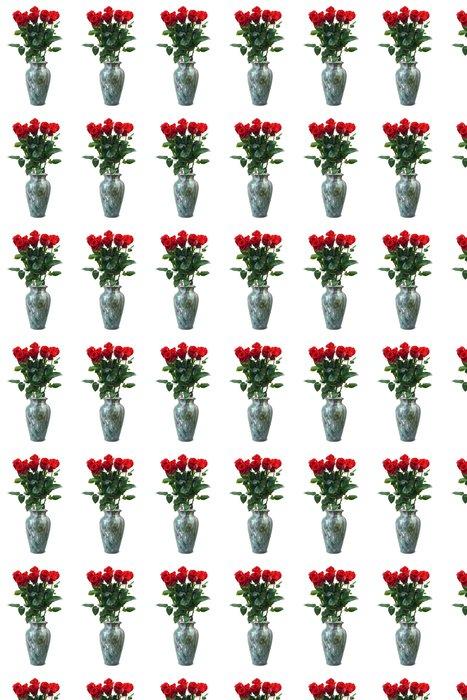 Vinylová Tapeta Růže ve váze - Mezinárodní svátky