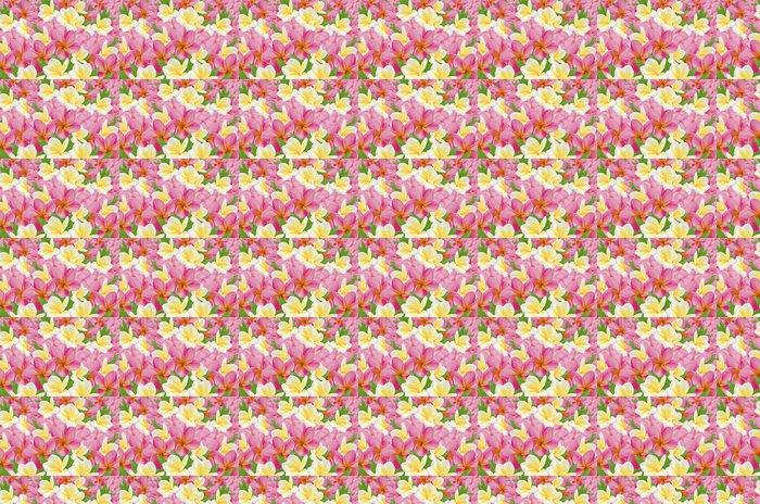 Vinylová Tapeta Plumérie - Květiny