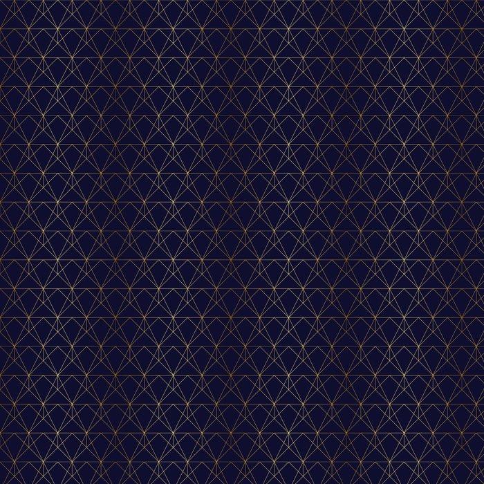Vinylová Tapeta Zlatý texturu. Bezproblémová geometrický vzor. Zlaté pozadí. G - Grafika