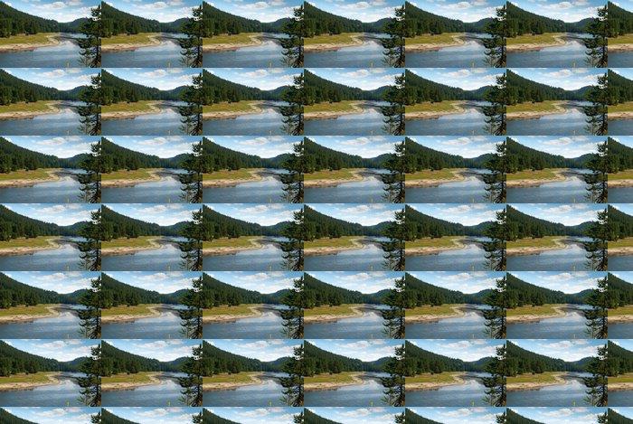 Vinylová Tapeta Mountain Lake - Evropa
