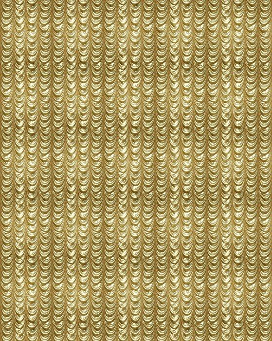Vinylová Tapeta Zlaté závěsy - Pozadí