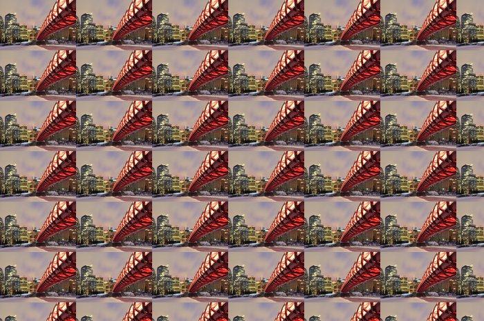 Vinylová Tapeta Calgary panorama a klid most v noci. - Amerika