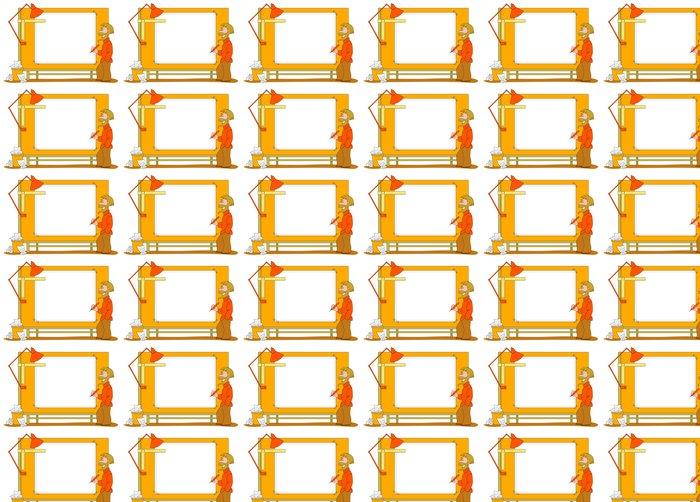 Vinylová Tapeta Architekt s rýsovacího prkna v bílé barvě - Muži