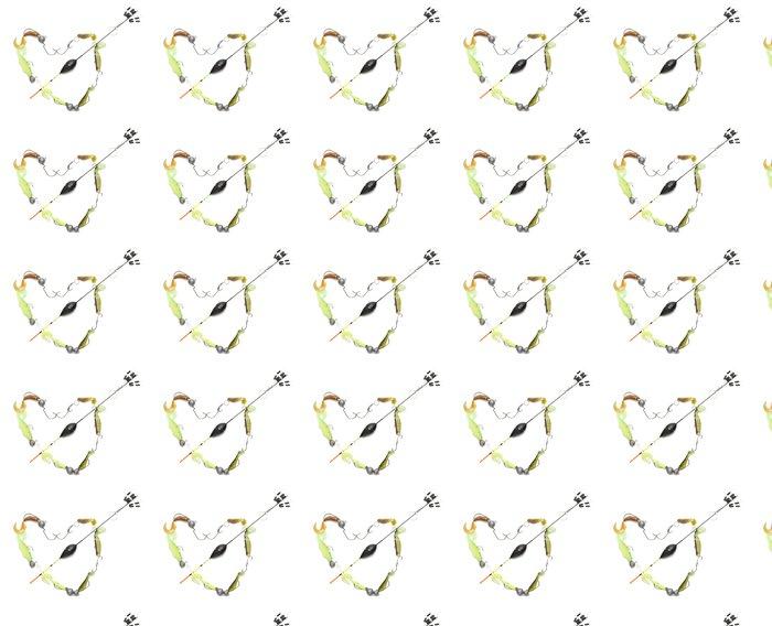 Vinylová Tapeta Rybaření srdce - Páry