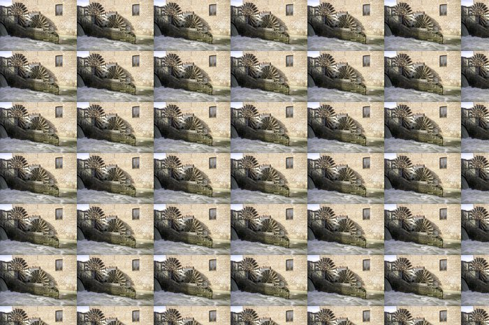 Vinylová Tapeta Leonardo da Vinci je vodní mlýn barevný obrázek - Památky