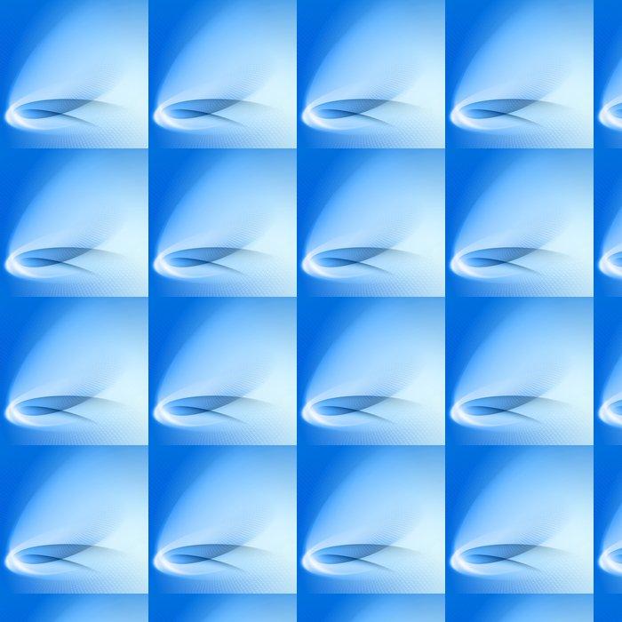 Vinylová Tapeta Modrá abstraktní pozadí - Přírodní krásy