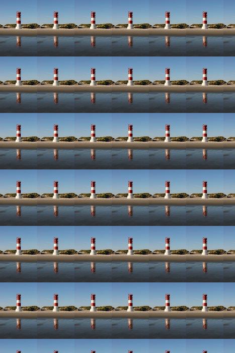 Vinylová Tapeta Leuchtturm am Düne-Südstrand (Helgoland) - Infrastruktura