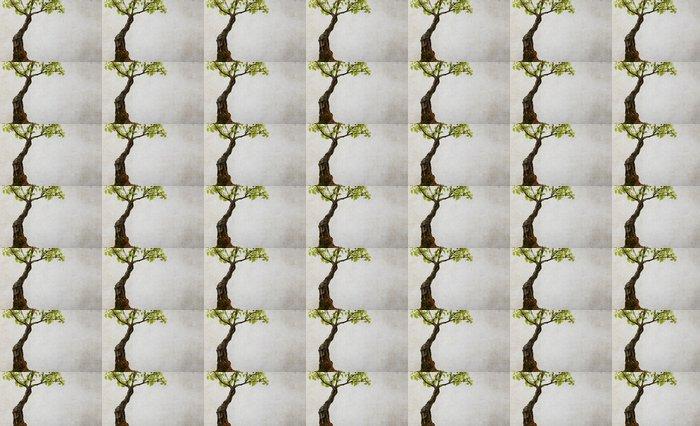 Vinylová Tapeta Strom na pozadí zničený - Roční období