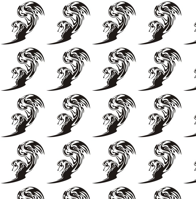 Vinylová Tapeta Tribal liška symbol. Fox ve skoku - Jiné pocity