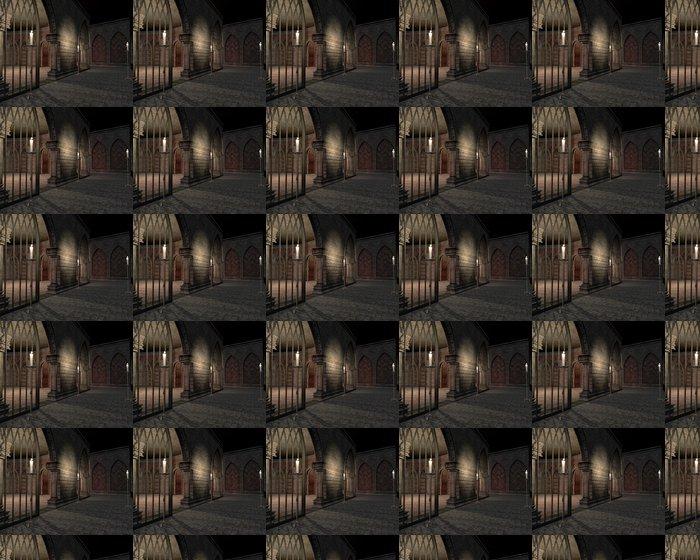 Vinylová Tapeta Podzemní ve starém zámku - Ezoterika