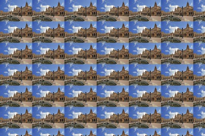 Vinylová Tapeta Pohled na centrální části Plaza Španělska v Seville - Památky