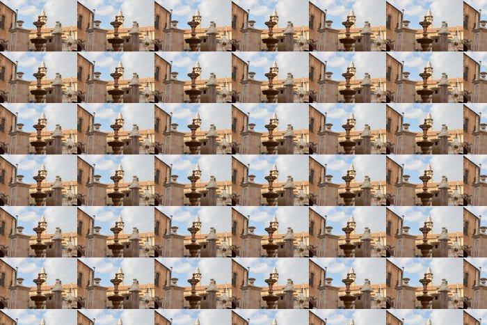 Vinylová Tapeta Kašna na náměstí Muristan v Jeruzalémě - Střední Východ
