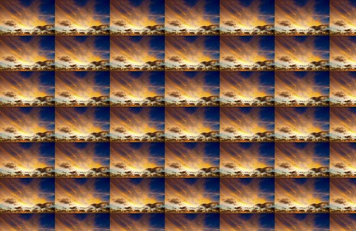 Vinylová Tapeta Stmívání - Nebe