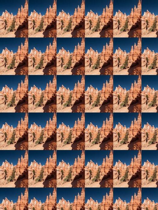 Vinylová Tapeta Falaises et Sentier dans Bryce Canyon - Amerika